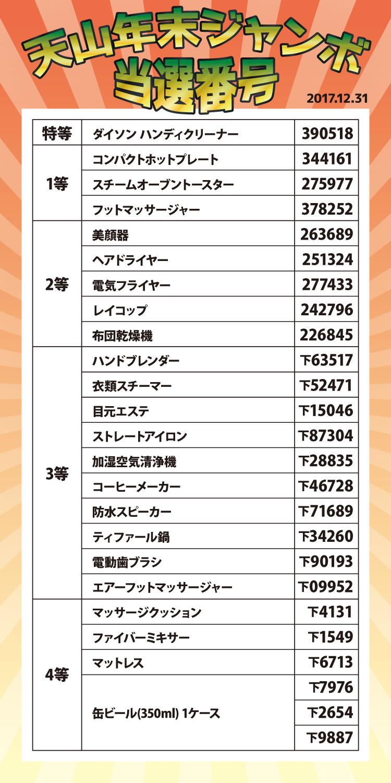 2019 年 年末 ジャンボ 宝くじ 当選 番号